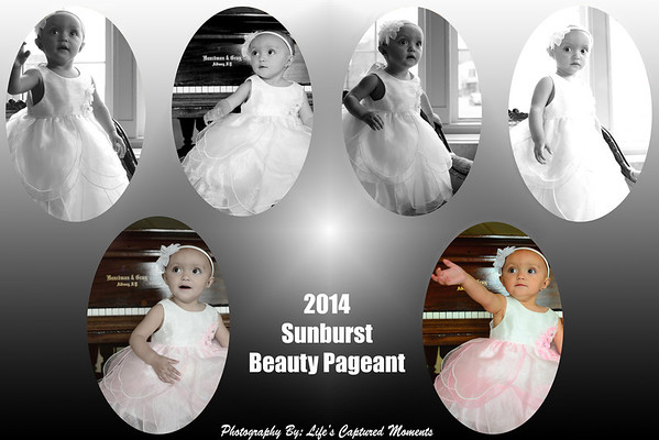 2014 Sunburst Beauty Pageant Photo Collages